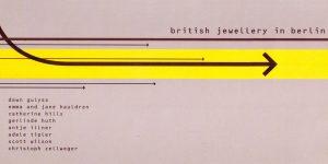 Einladungskarte, Bettina Meyer macht Schmuck: British jewellery in Berlin, 2000