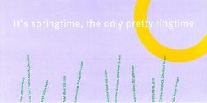 Einladungskarte, Bettina Meyer macht Schmuck: Springtime, 2000