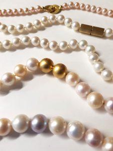 Bettina Meyer macht Schmuck - Perlenketten