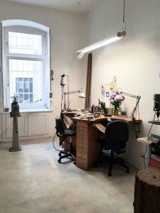 Bettina Meyer macht Schmuck: Werkstatt